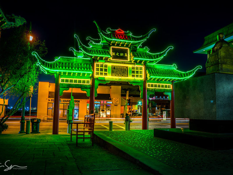 chinatown green glow-sm